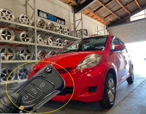 TOYOTA-PASSO-Remote-key-replacement