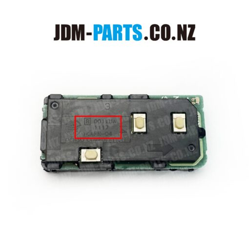 TOYOTA Genuine SMART KEY 3 Buttons Boot 315Mhz 001YUA 1117 14AFN-04» JDM-PARTS.co.nz