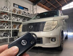 NISSAN Elgrand E51 smart key fob all key Lost Recovery by coding