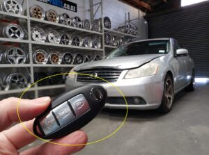 NISSAN Fuga Y50 smart key fob all key Lost Recovery by coding