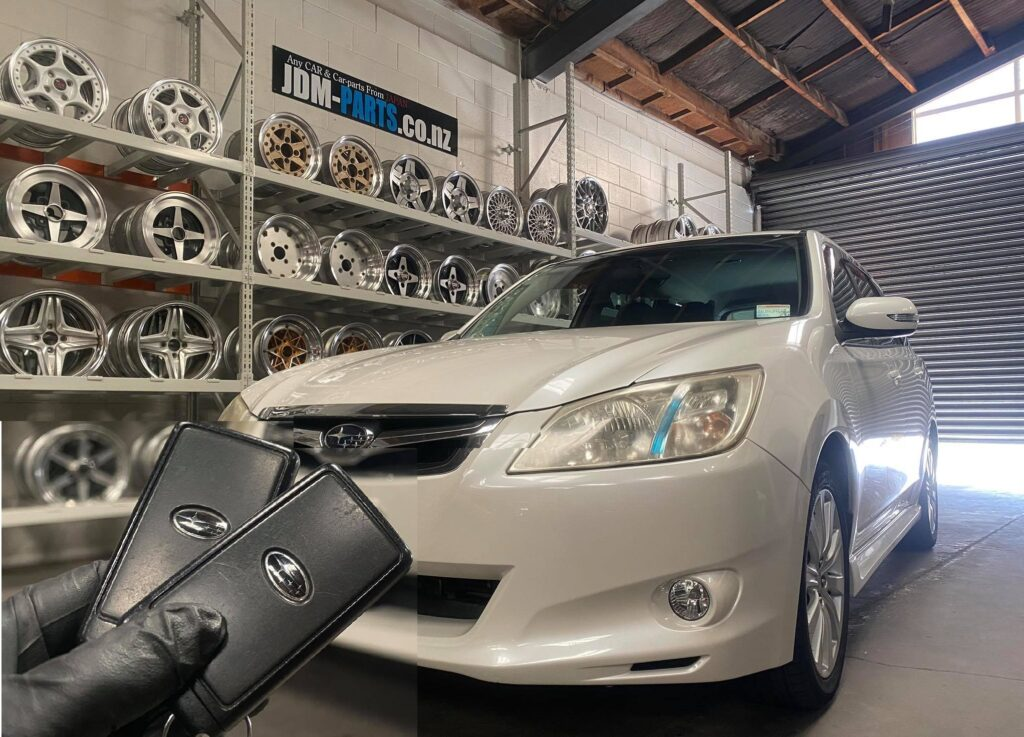 Subaru Exiga Push Start Smart remote Key Duplication» JDM-PARTS.co.nz